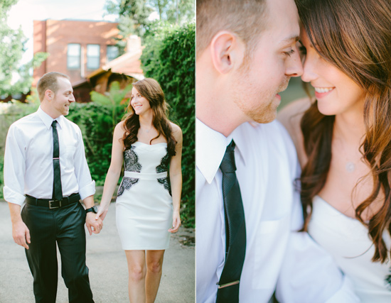 The Oregon District I Dayton OH wedding & engagement photography I Megan & Nathan