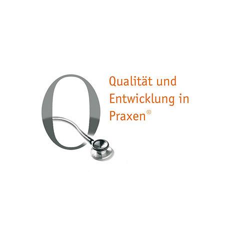 Logo-Entwicklung für ein Qualitätsmanagement Produkt der Kassenärztlichen Bundesvereinigung in Kooperation mit dem Deutschen Ärzteverlag