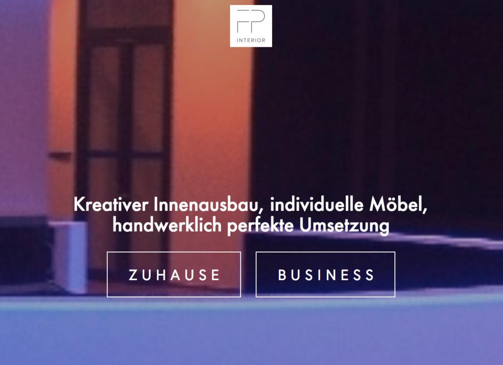 Entwicklung der Firmen-Website - Konzept, Text DE + EN, Gestaltung, Programmierung