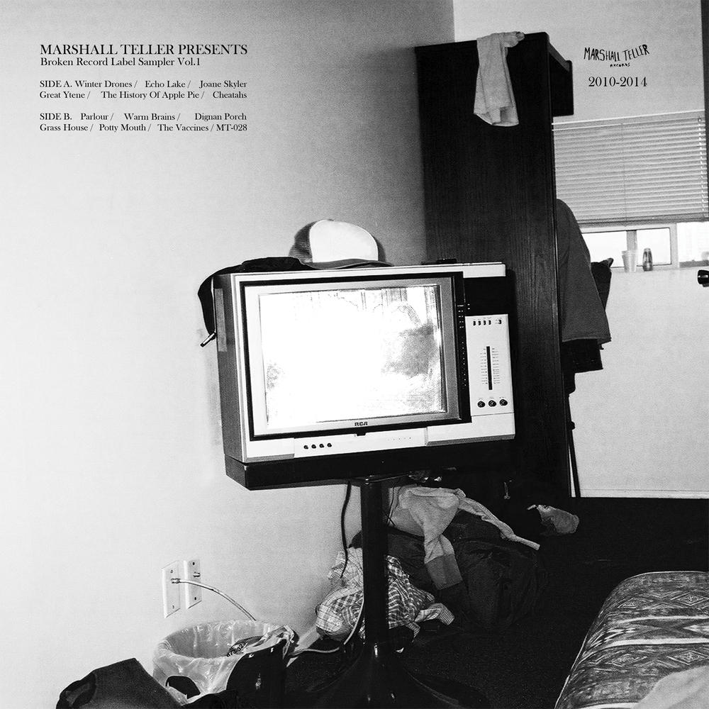 Marshall Teller Presents, 'Broken Record Label Sampler Vol.1' LP /  DL