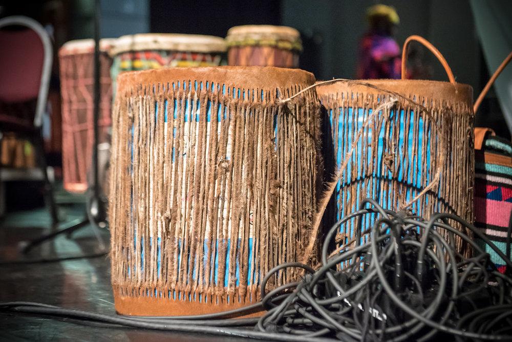 Kasiva's drums from Kenya