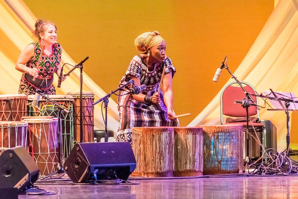 """Jessie Lehmann and Kasiva Mutua on Kasiva's original piece, """"Pumoja"""""""