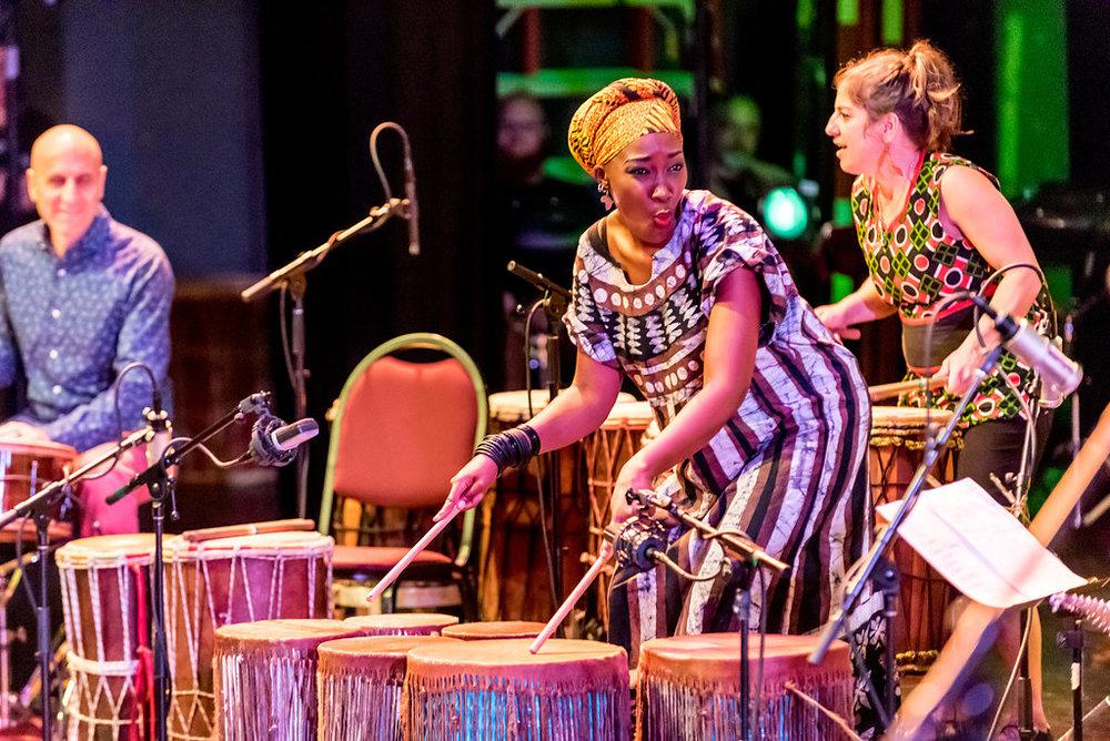 """River Guerguerian, Kasiva Mutua and Jessie Lehmann on Kasiva's original piece, """"Pumoja"""""""