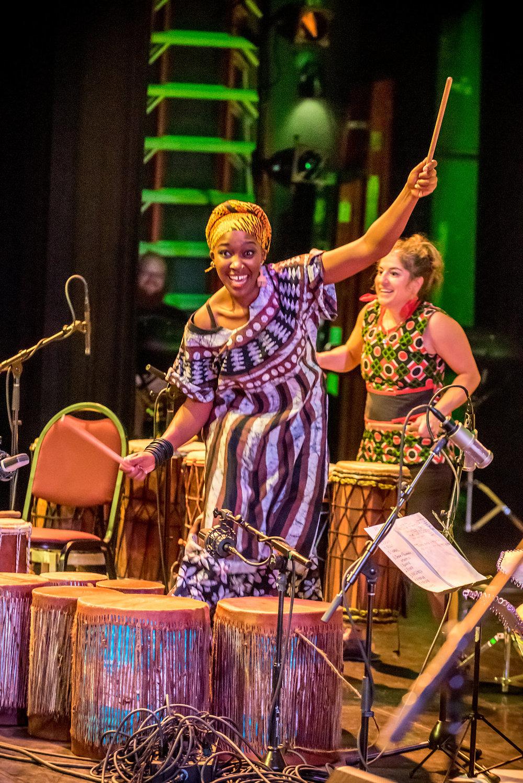 """Kasiva Mutua and Jessie Lehmann on Kasiva's original piece, """"Pumoja"""""""