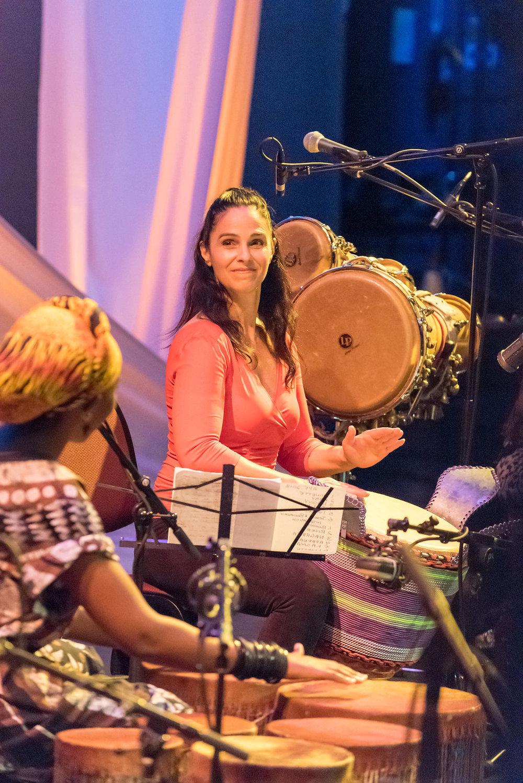 Kasiva Mutua and Monette Marino
