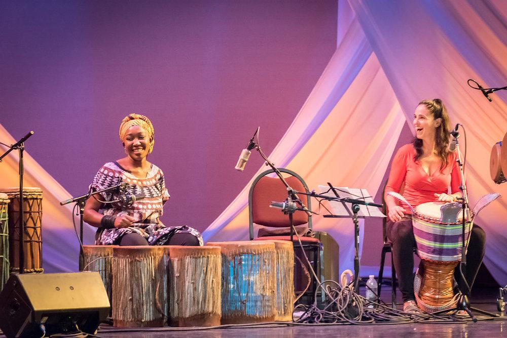 """Kasiva Mutua and Monette Marino on Kasiva's original piece, """"Pumoja"""""""
