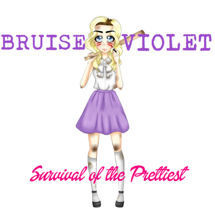 Click the album cover to listen to Bruise Violet's EP