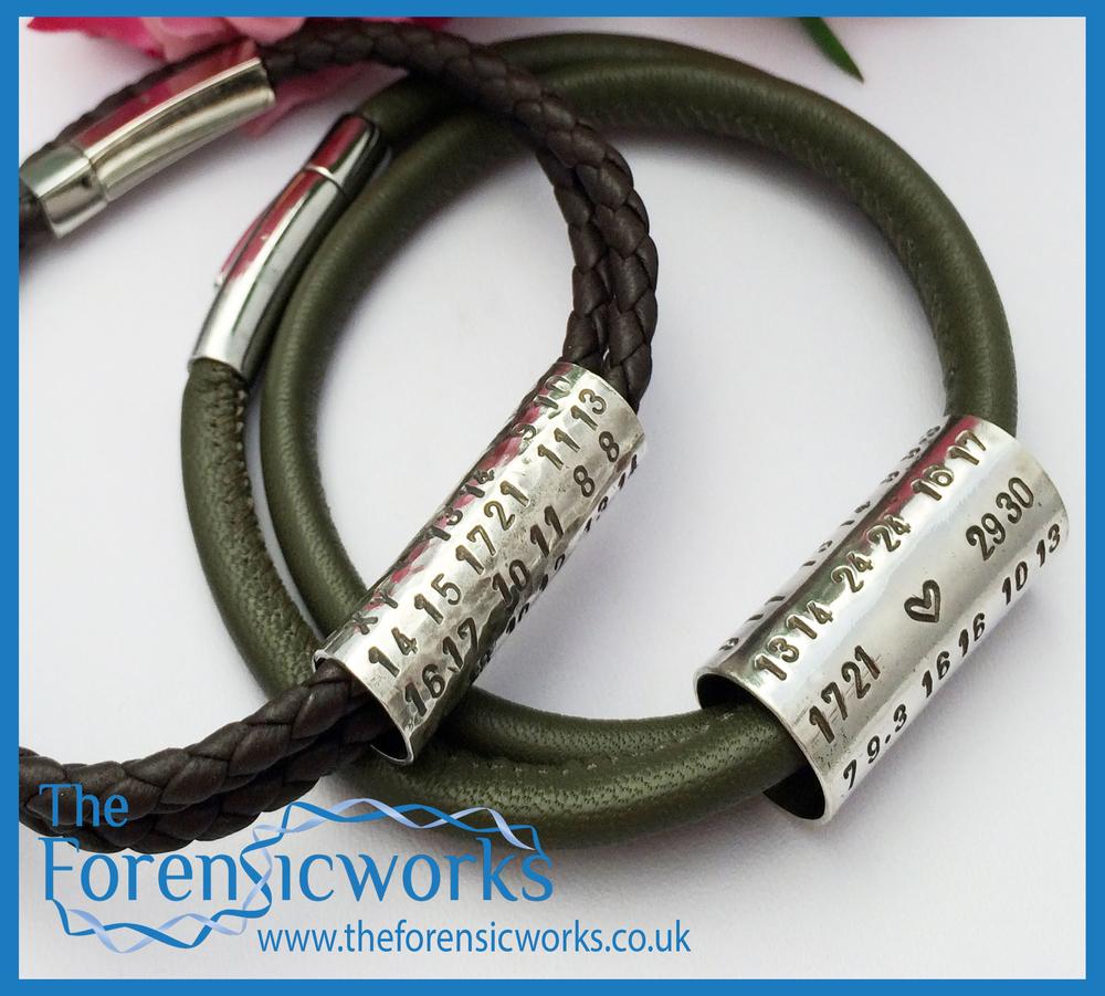Mr & Mrs couples DNA bracelet.jpg