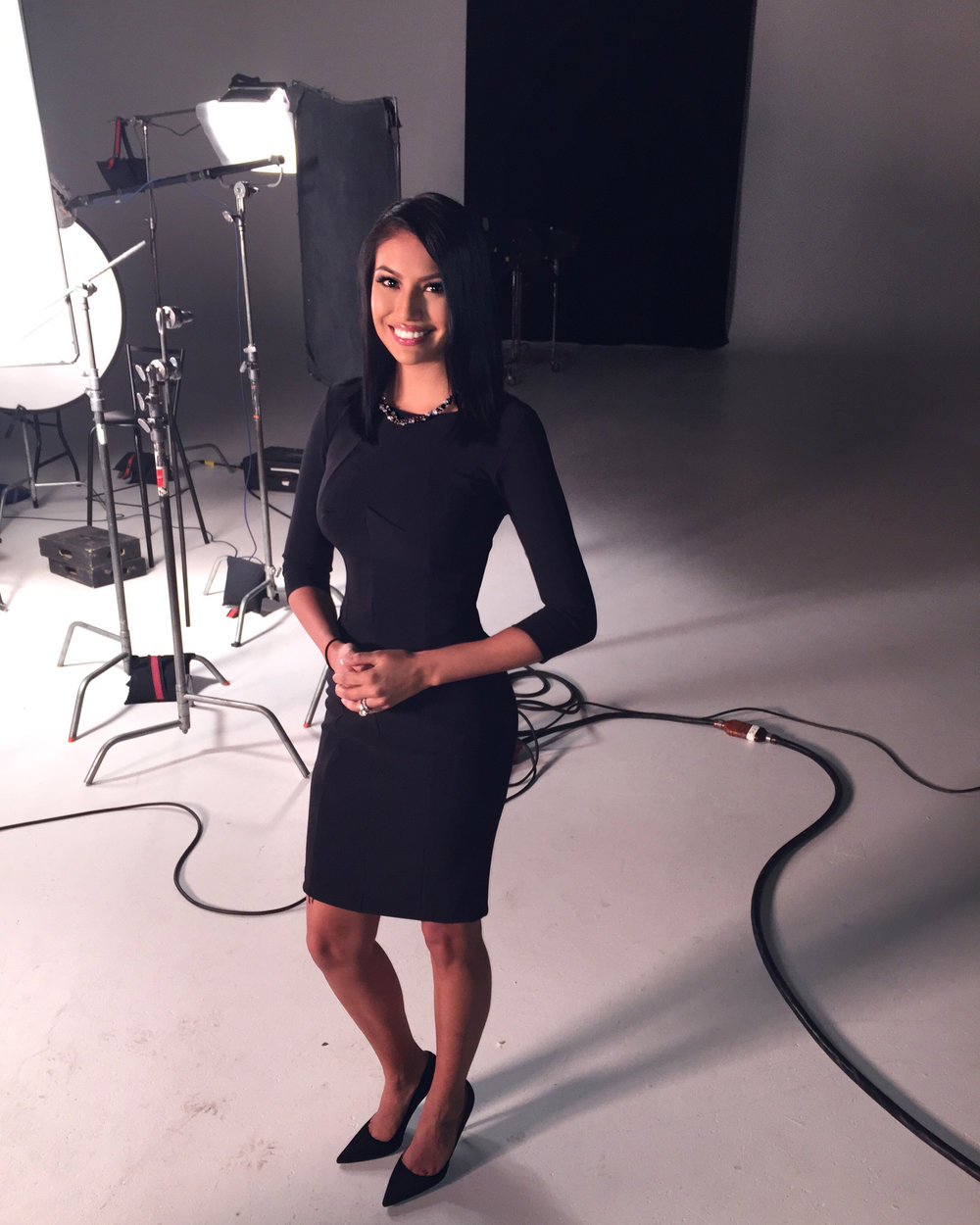 Mrs. Universe - Ashley Callingbull wearing a size 4