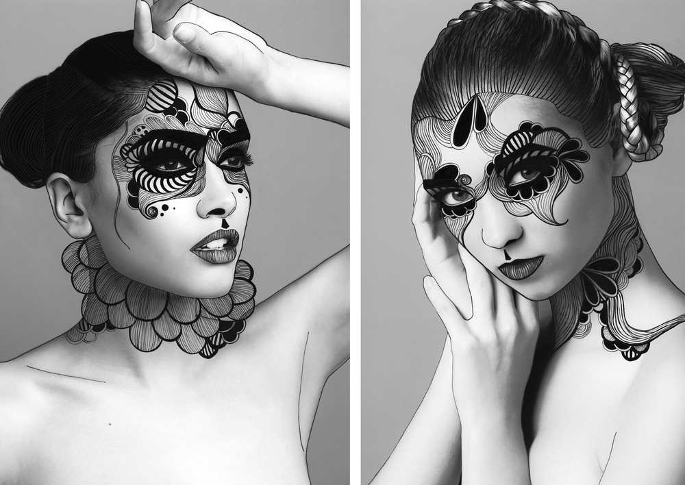 Model: Jessieka Martinez-Soto (Left), Kelly Blaakman (Right) MUA: Leann Overmyer Hair Stylist: Candice Holmes