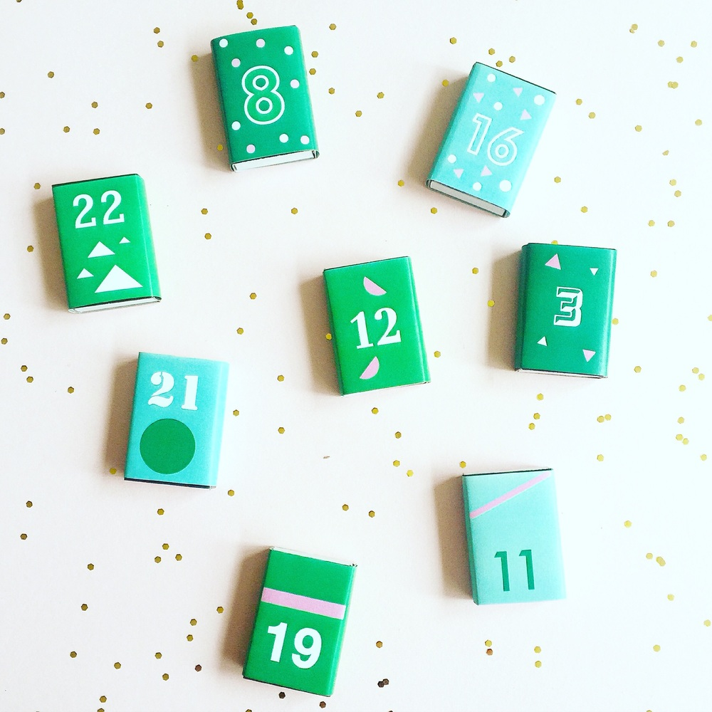 DIY Fun Christmas Number Match Box Advent Calednar.jpg