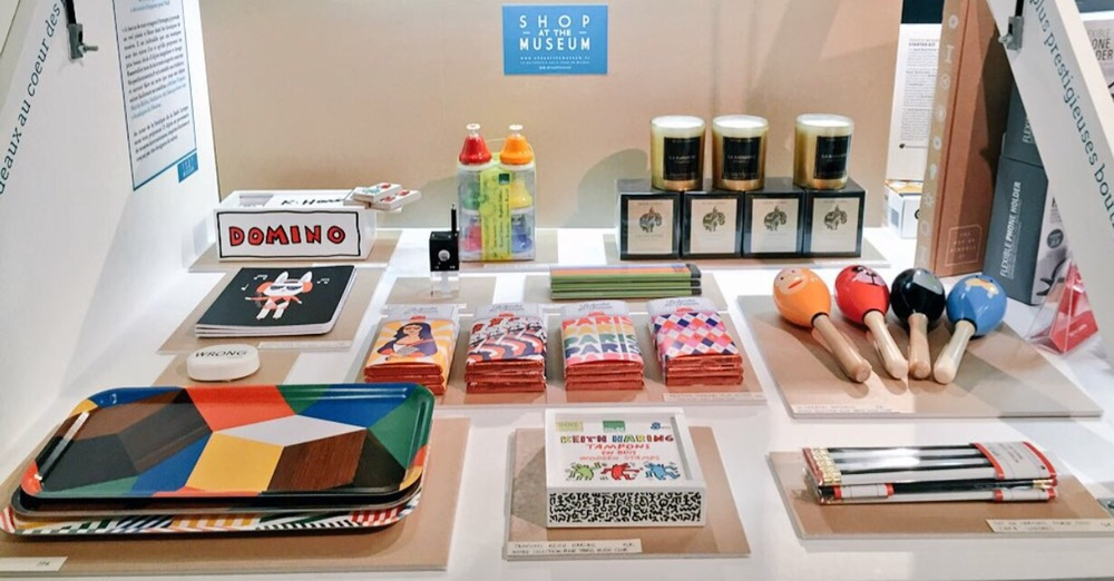 Shop at the Museum Christmas Pop Up Products Display at La Gaîté Lyrique, Paris - Photo courtesy of Yannick Debain. In this display, products include : Keith Haring Dominoes, Ich et Kar trays, I AM A Morse Code Pencils, Le Chocolat Des Francais chocolate and many many more very colourful and fun items. Shop Now at  Shop at the Museum , and don't miss out to visit the store at   La Gaîté Lyrique!