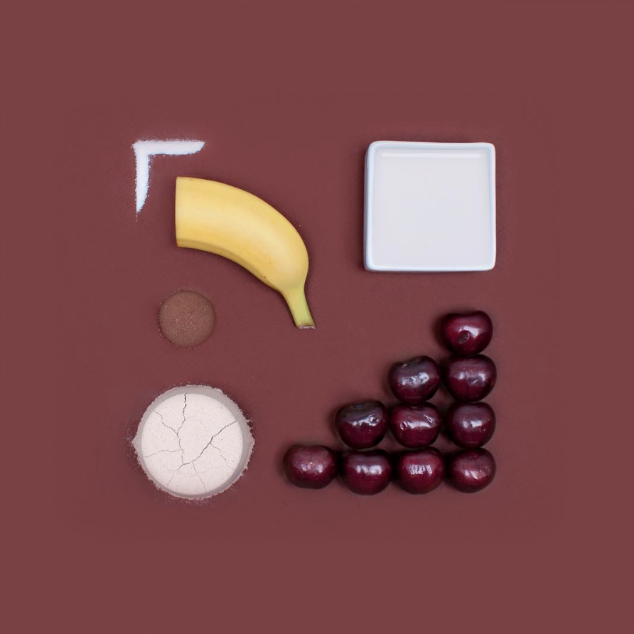 deconstructed smoothie pantone