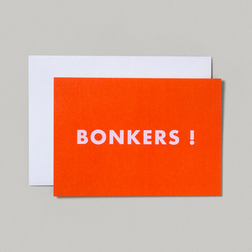 I am a british stationery and gifts company british slang bonkers greeting card m4hsunfo