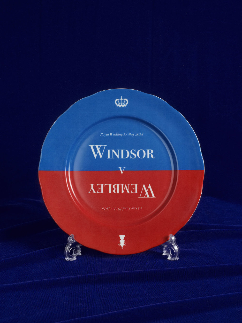 Harry and Meghan Wedding Windsor Wembley Plate.jpg