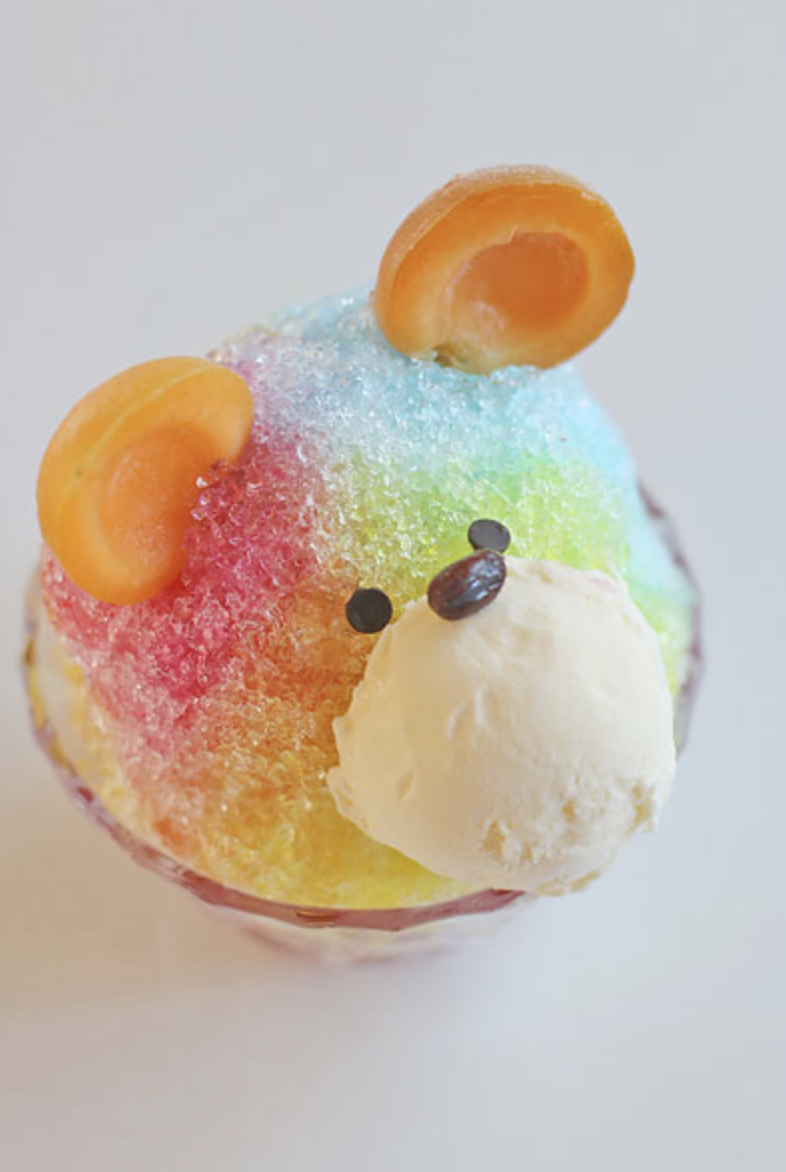 cute bear rainbow japanese dessert.png