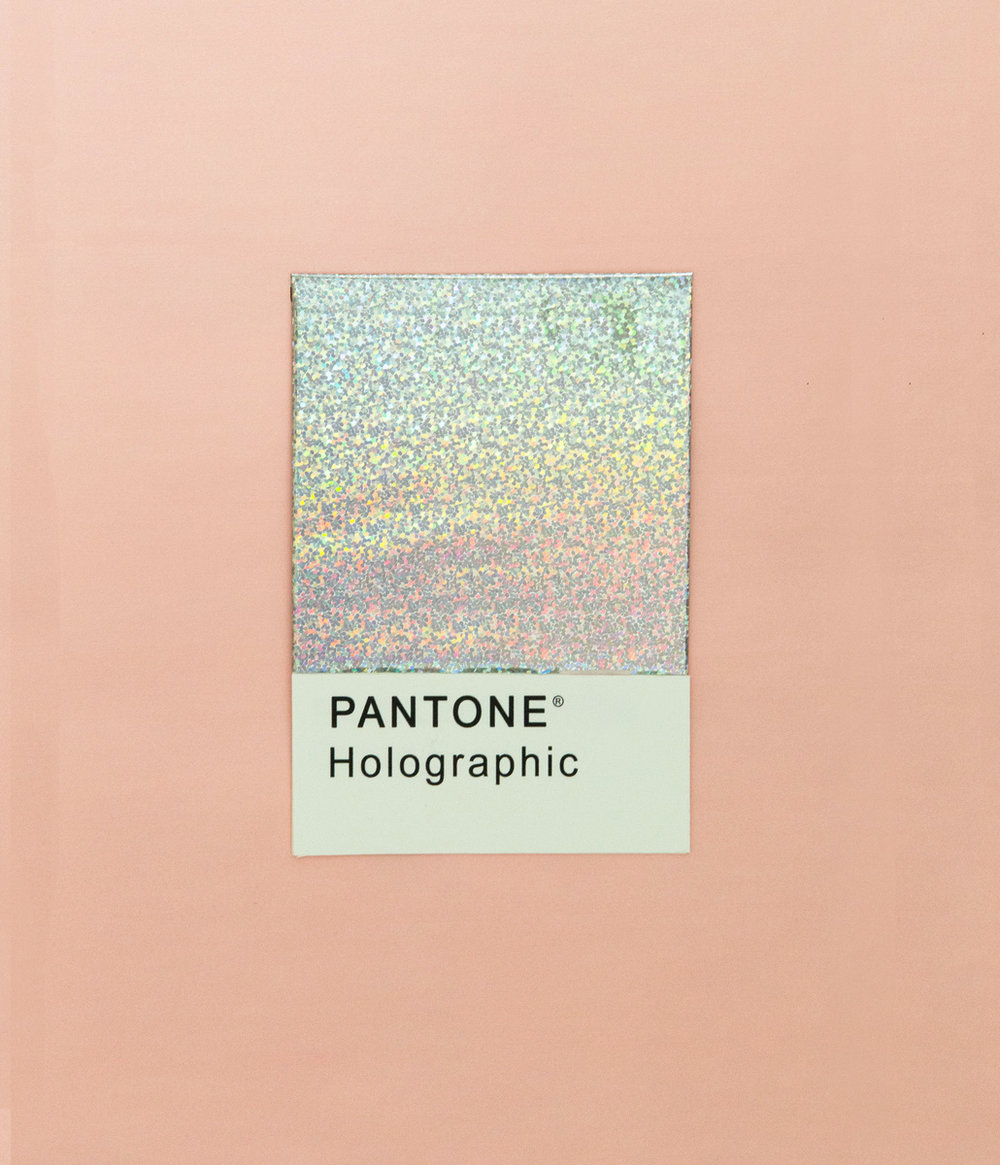 pantone holographic