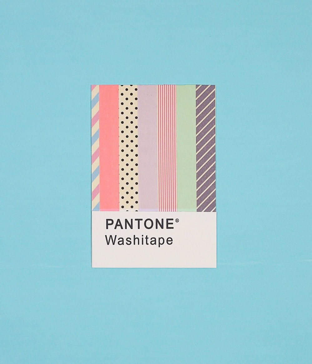 pantone washi tape