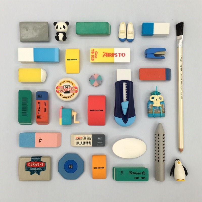 stationery addict pencil must haves erasers