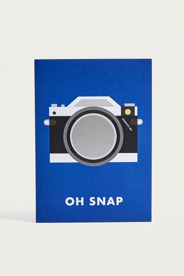 Oh Snap Greeting Card