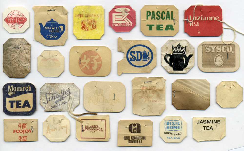 tea bags paper tags