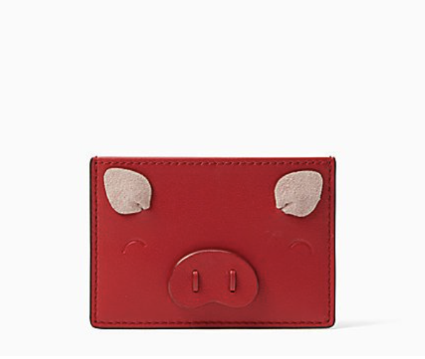 Kate Spade Pig Card Holder Year of the Pig.png