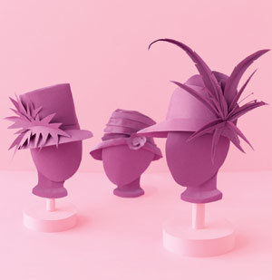 Paper Millinery Hats