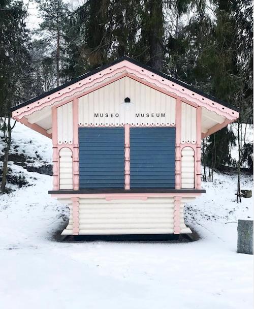 Seurasaari Open-Air Museum Pink Museum Building.png