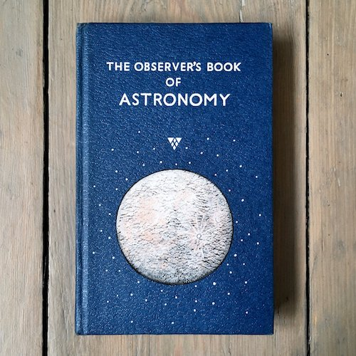 cute vintage book cover astronomy