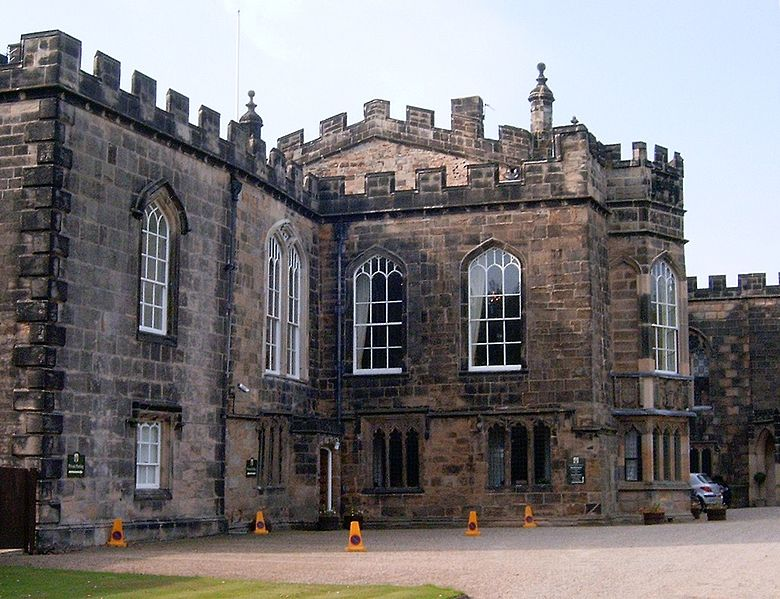 The exterior of Auckland Castle