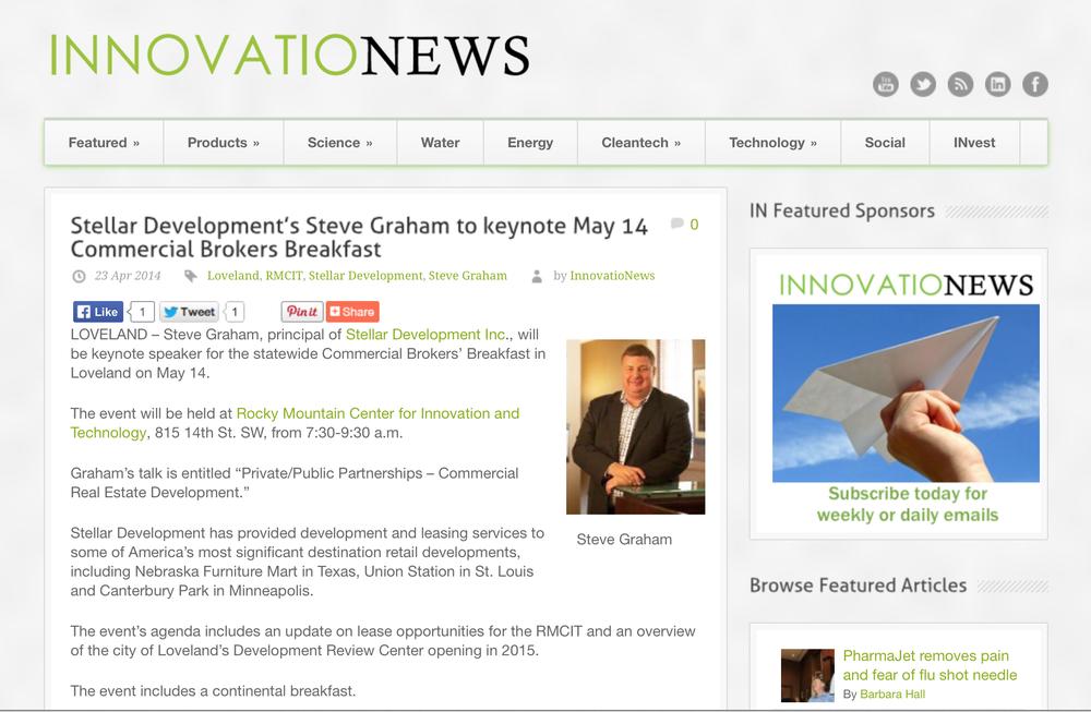 Steve Graham speaks at a developer's conference.