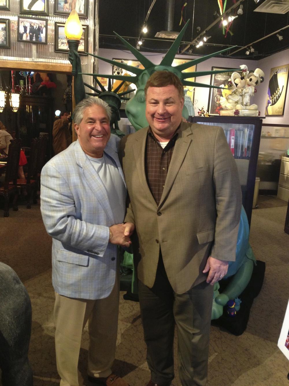 Steve Graham and Steve Schussler