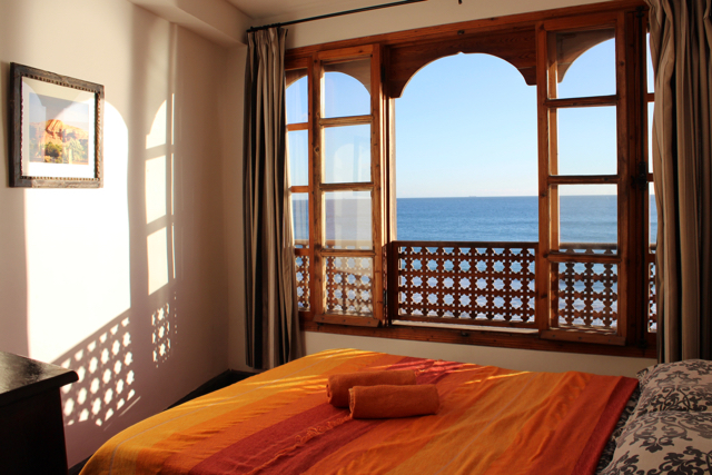 Double room in the surfcamp
