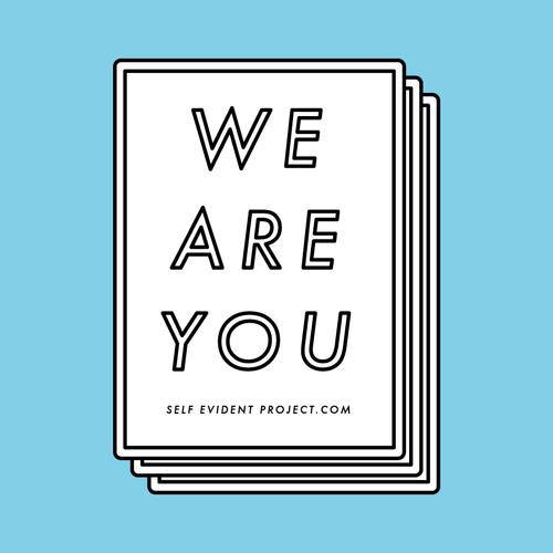 We are you stickers