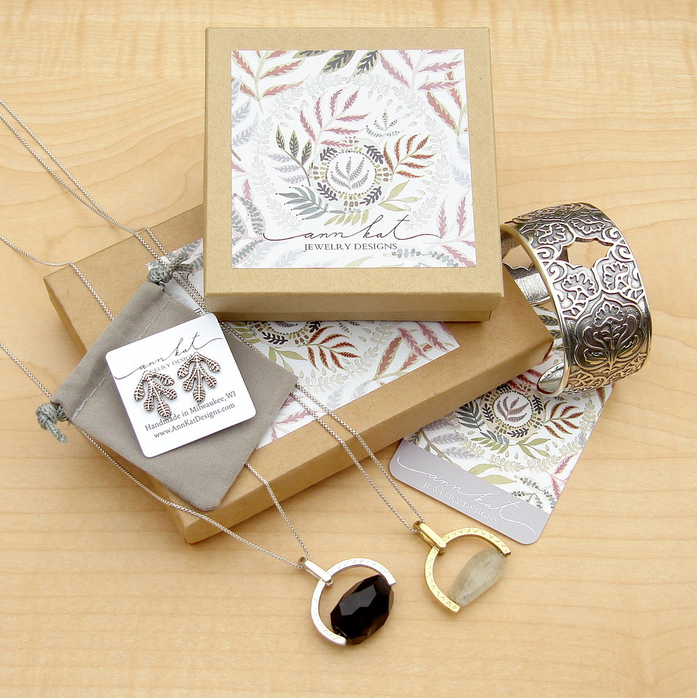 Each design is individually packaged & ready to give as a gift.