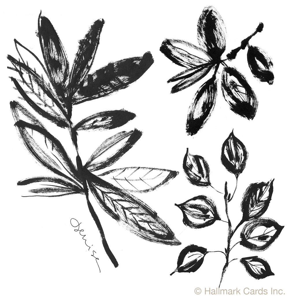 Leaves on Branches Brushwork.jpg