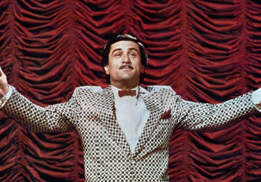 Robert DeNiro as Rupert Pupkin (source unknown, likely commons license)