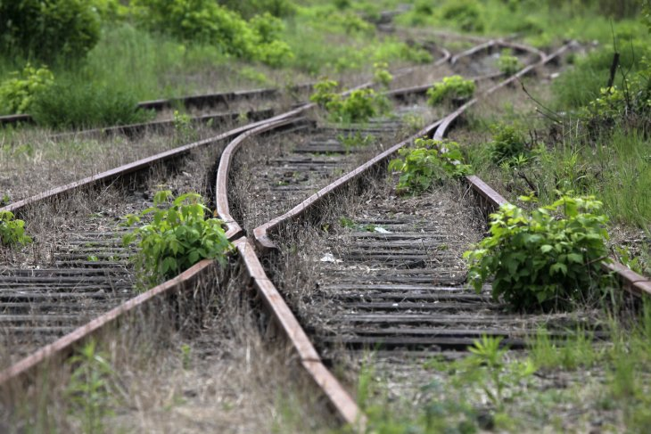 Unused Polish Rail Line (Reuters)