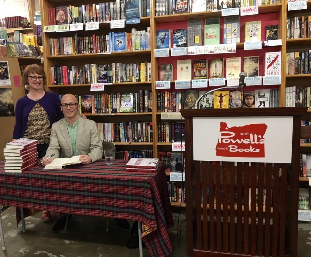 Powell's Books on Hawthorne, April 2016
