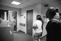 waiting at the operating room door