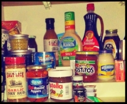 Pantry without baby food