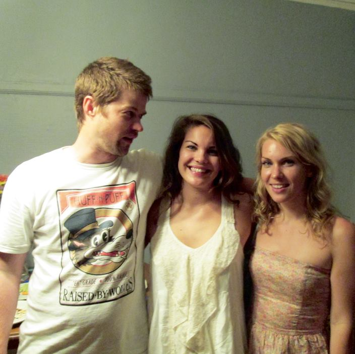Author Ann Ward (Center) with living siblings Andrew (left) and Jane (right).
