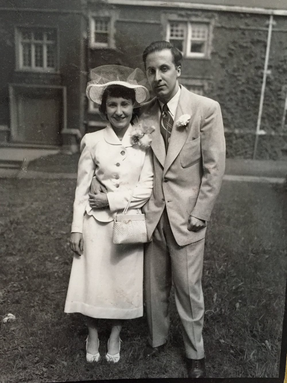 Amelia and Dr. Rudolf Wilhelm