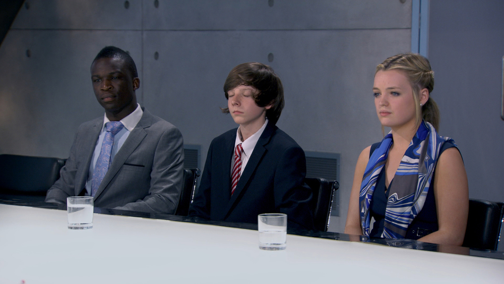 Final Three in Apprentice Boardroom