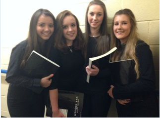 Girls Take Part In Bbc Proms Youth Choir