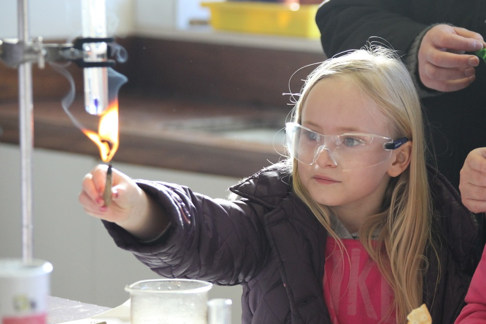Science  in action at our Open Day