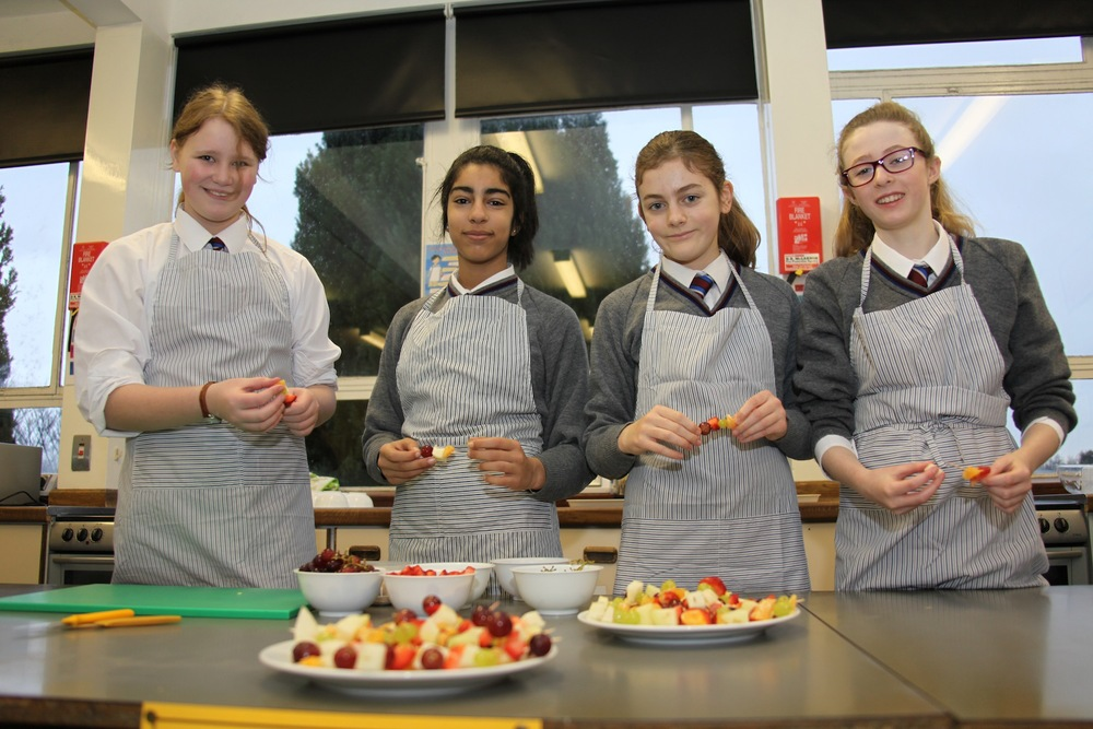 Healthy food in  Home Economics