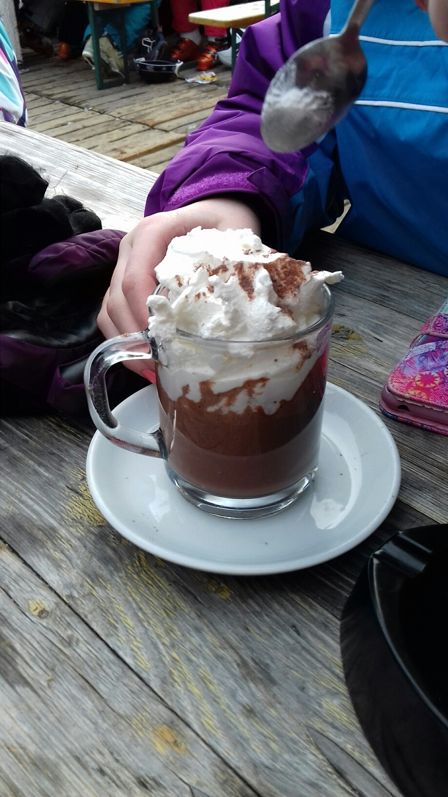 My hot chocolate
