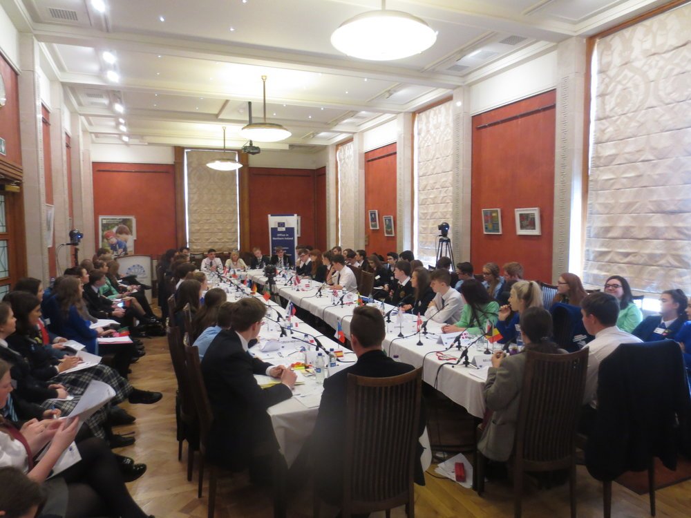 172. the Mock Council of the EU in the Long Gallery 20.10.17.JPG
