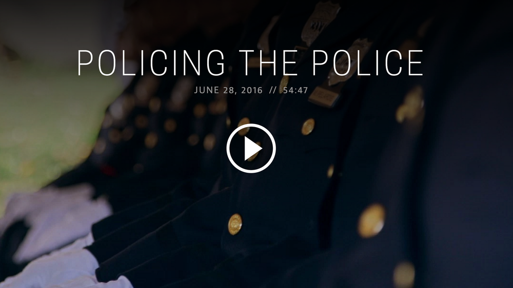 Policing the Police for PBS Frontline